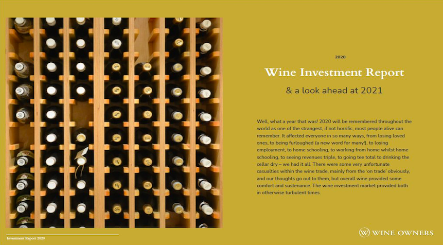 Fine Wine Investment Report 2020 and a look ahead at 2021