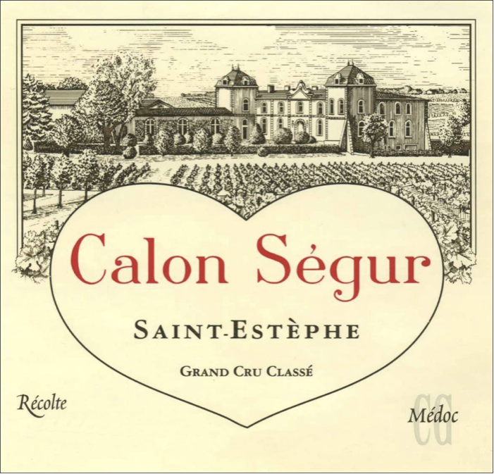 Wine Owners Valentine's day Calon Segur