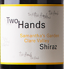 Two Hands Wines Samanthas Garden Shiraz Clare Valley