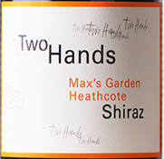 Two Hands Wines Maxs Garden Heathcote Shiraz