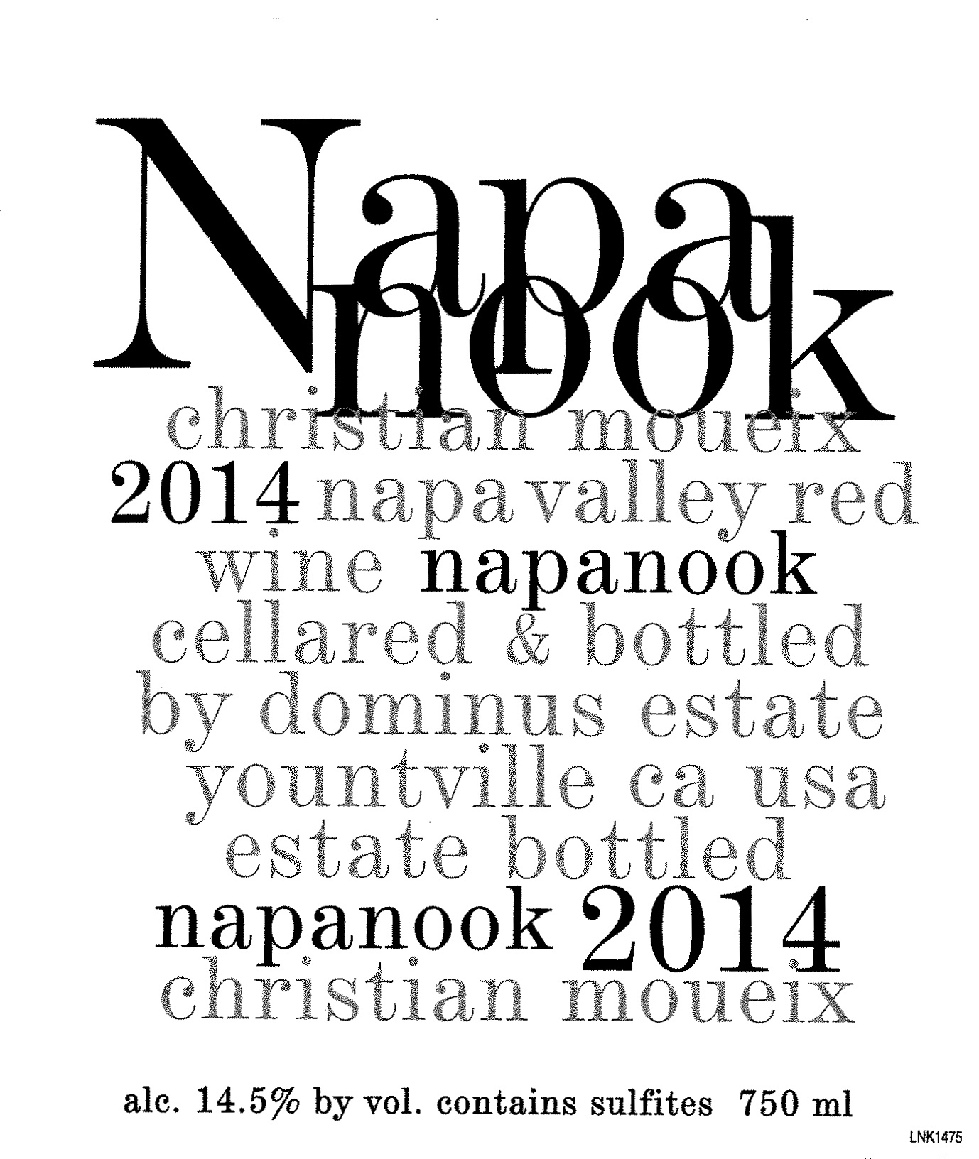 Dominus Estate Napanook Napa Valley