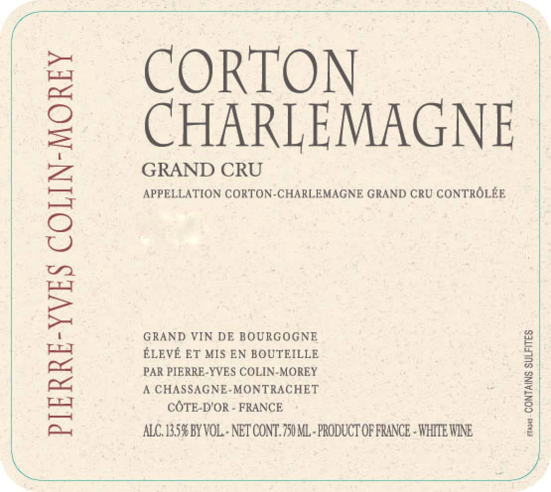 Pierre-Yves Colin-Morey Corton Charlemagne Grand Cru